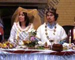 Рыцарская свадьба Дмитрия и Ольги
